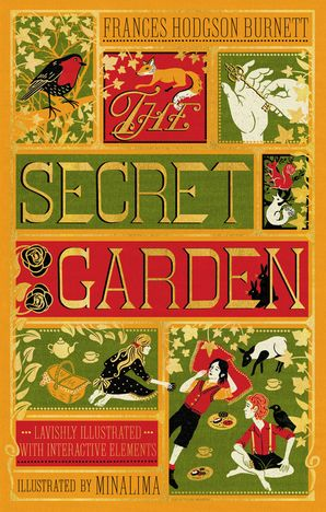 The Secret Garden (Illustrated with Interactive Elements) Hardcover  by Frances Burnett