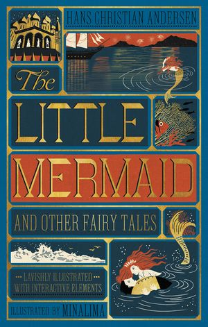Little Mermaid and Other Fairy Tales, The (Illustrated with Interactive Elements book image