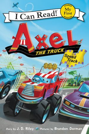 Axel the Truck: Speed Track book image