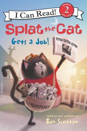 Splat the Cat Gets a Job! book image