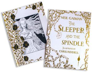 The Sleeper and the Spindle Deluxe Edition book image