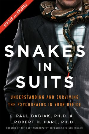 Snakes in Suits, Revised Edition book image