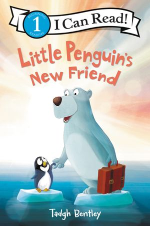 Little Penguin's New Friend book image
