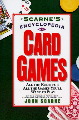 Scarne's Encyclopedia of Card Games book image