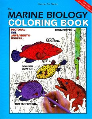 The Marine Biology Coloring Book, 2nd Edition book image