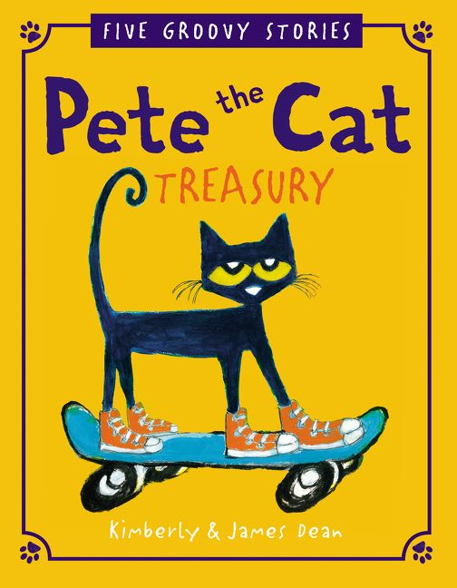 pete the cat treasury james dean hardcover