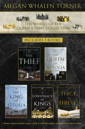 World of the Queen's Thief Collection book image
