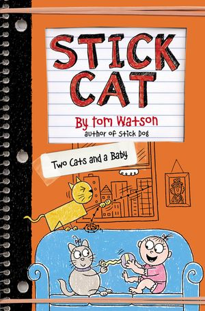 Stick Cat: Two Cats and a Baby book image