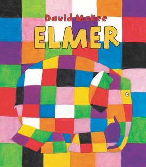 Elmer Padded Board Book book image