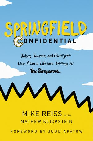 Springfield Confidential book image