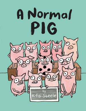 A Normal Pig book image