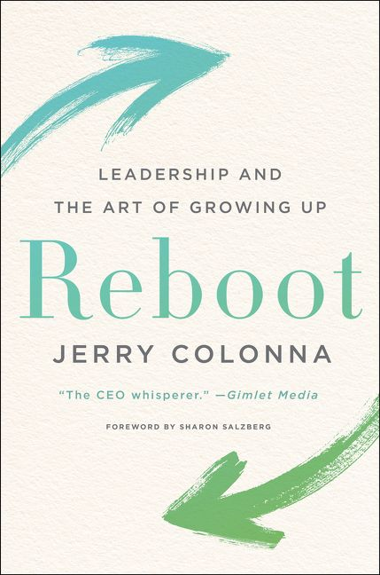 Book cover image: Reboot: Leadership and the Art of Growing Up