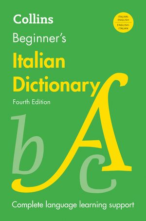 Collins Beginner's Italian Dictionary, Fourth Edition book image