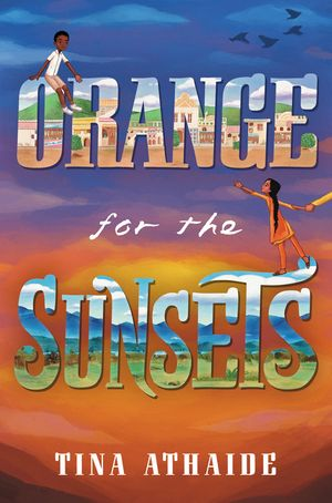 Orange for the Sunsets book image