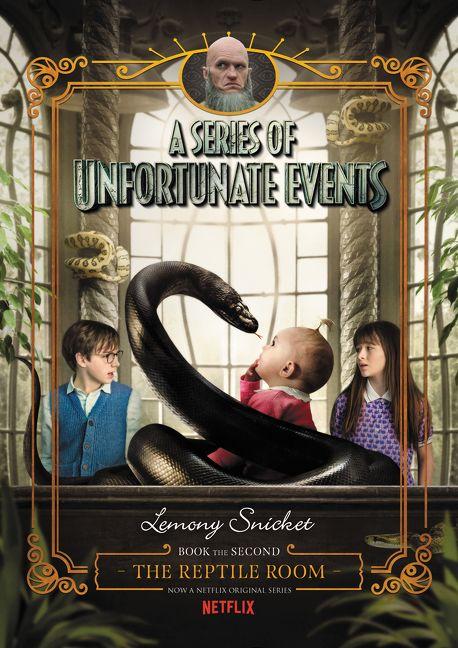 Book Cover Series Netflix ~ A series of unfortunate events the reptile room