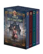 A Series of Unfortunate Events #1-4 Netflix Tie-in Box Set Hardcover  by Lemony Snicket