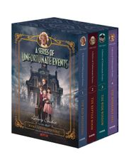 A Series of Unfortunate Events #1-4 Netflix Tie-in Box Set