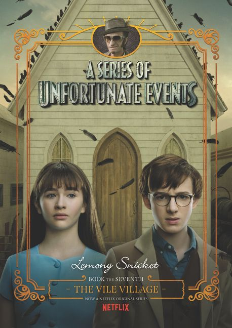 Book Cover Series Netflix : A series of unfortunate events the vile village