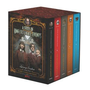 A Series of Unfortunate Events #5-9 Netflix Tie-in Box Set book image