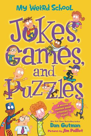 My Weird School: Jokes, Games, and Puzzles book image