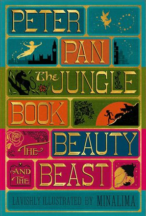 ILLUSTRATED CLASSICS BOXED SET:PETER PAN, JUNGLE BOOK, BEAUTY AND Hardcover  by