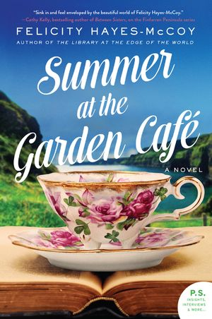 Summer at the Garden Cafe book image