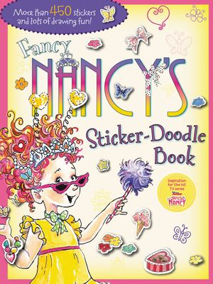 Fancy Nancy's Sticker-Doodle Book book image