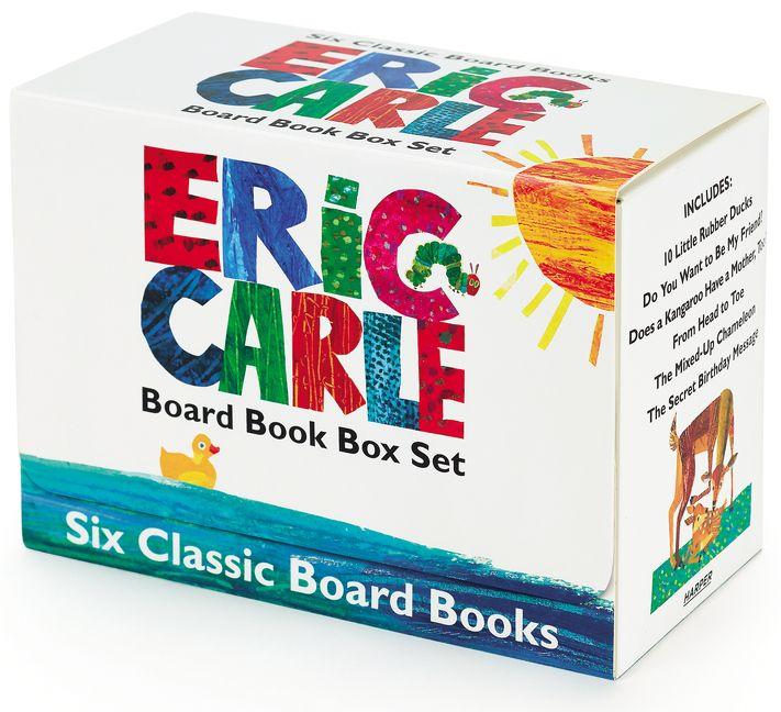 Eric Carle Six Classic Board Books Box Set - Eric Carle
