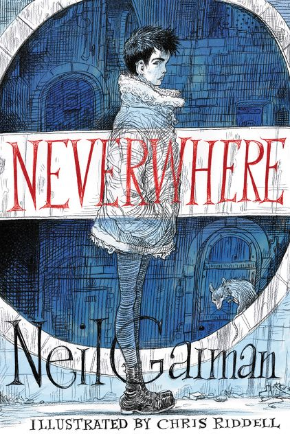 Illustrated Book Cover ~ Neverwhere illustrated edition neil gaiman hardcover