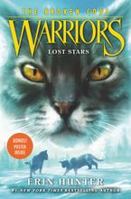 Warriors: The Broken Code #1: Lost Stars Hardcover  by Erin Hunter