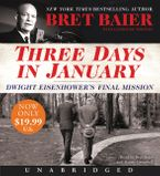Three Days in January Low Price CD