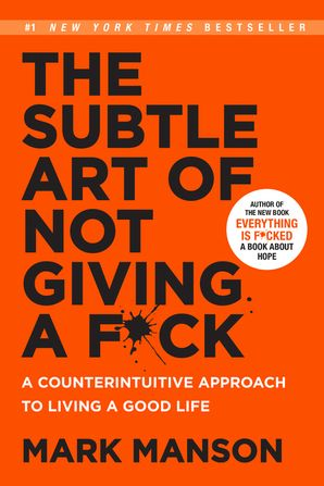 The Subtle Art of Not Giving a F*ck (Smiths UK) Paperback  by Mark Manson
