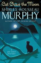 Cat Chase the Moon Hardcover  by Shirley Rousseau Murphy