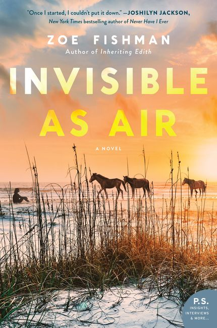 Invisible As Air Zoe Fishman Paperback