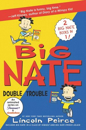 Big Nate: Double Trouble book image