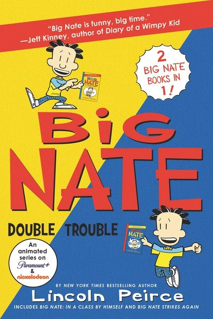 Big Nate: Double Trouble - Lincoln Peirce - Paperback
