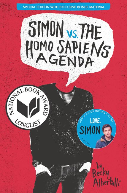 Simon vs  the Homo Sapiens Agenda Special Edition - Becky