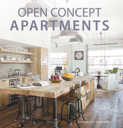 Open Concept Apartments - Francesc Zamora - Hardcover