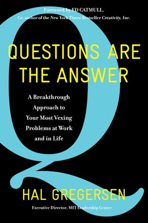 Questions Are the Answer book image