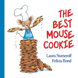 The Best Mouse Cookie Padded Board Book book image