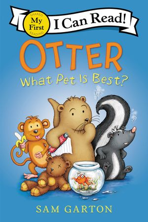 Otter: What Pet Is Best? book image