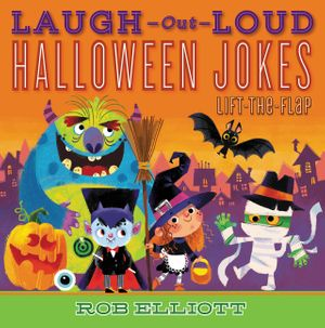 Laugh-Out-Loud Halloween Jokes: Lift-the-Flap book image