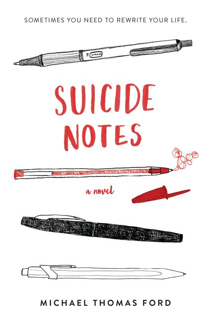 Image result for suicide notes book