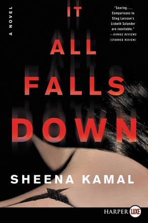 Cover image - It All Falls Down: A Novel [Large Print]