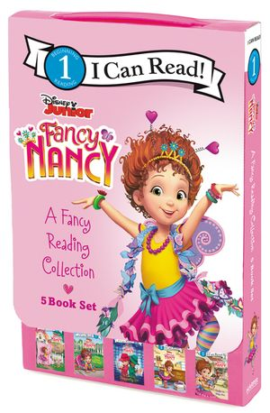 Disney Junior Fancy Nancy: A Fancy Reading Collection book image