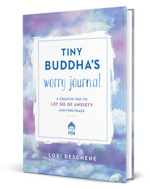 Cover image - Tiny Buddha's Worry Journal: A Creative Way to Let Go of Anxiety and Find Peace