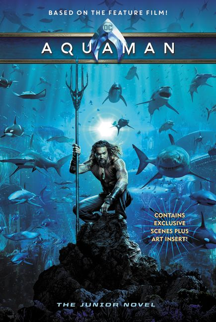 aquaman  the junior novel - jim mccann
