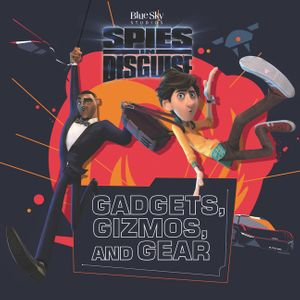 Spies in Disguise 8x8 Deluxe book image