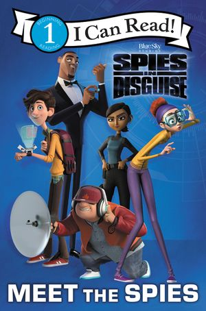 Spies in Disguise ICR #1 book image