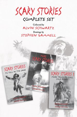 Scary Stories Complete Set book image
